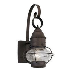 "Designer Fountain - Nantucket 10"" Wall Lantern - 10 inches onion wall lantern"