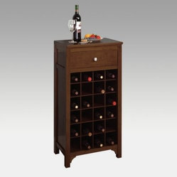 Harrison 24-Bottle Wine Cabinet