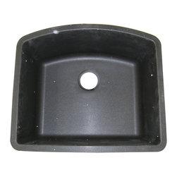 Blanco 440174 - Blanco 440174 Diamond Single Bowl Silgranit II Undermount Kitchen Sink In Anthracite -511-712
