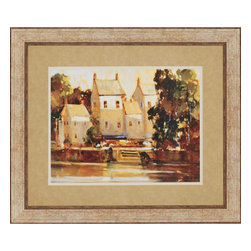 Paragon - Steps to the Manor - Framed Art - Each product is custom made upon order so there might be small variations from the picture displayed. No two pieces are exactly alike.