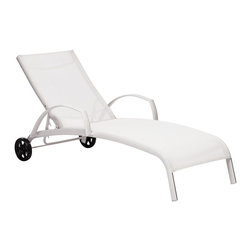 Zuo Modern - Zuo Modern Casam Outdoor Lounge X-770307 - Sleek and modern, lounge in style with the Casam Lounge Chair. The frame is made of aluminum and the cover is textile, a very durable polyester fiber mix that withstands UV rays and water.