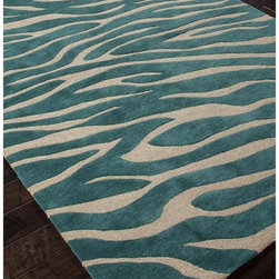 Jaipur Rugs - Jaipur Brio Animal Magnetism Modern Animal Print Pattern Polyester Tufted Rug - - Shop for Rugs and Runners from Hayneedle.com! About Jaipur RugsOne of the leading providers of hand-woven rugs from India Jaipur Rugs opened their United States-based plant in Atlanta in 1998. Founded on the ideals of visionary N.K. Chaudhary a rug maker with over 30 years' experience Jaipur features a team of over 30 designers and 40 000 skilled rug makers all of whom carry out the company's original dream of making high-quality outstanding rugs based on ancient traditions. Jaipur makes flat-woven hand-tufted and hand-knotted rugs that incorporate cutting-edge technologies and designs and real handspun fibers to bring you the ultimate in true Indian craftsmanship.