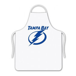 Sports Coverage - Sports Coverage NHL Tampa Bay Lightning Tailgate Apron - Show your NHL team spirit with this screen printed Tampa Bay Lightning Tailgate Apron! This wonderfully designed NHL Apron is a necessity for any chef. Whether in your backyard, outside the stadium or arena, or at your restaurant, this Apron is the perfect accessory. Regardless of the occasion, make sure you show your team spirit with this NHL Apron.  Apron is 100% cotton twill with screenprinted logo. One Size fits all.