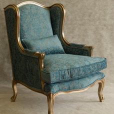 Traditional Accent Chairs by Nefertiti Designs