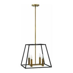 "Hinkley Lighting - Hinkley Lighting 3334 4 Light 16.25"" Height Indoor Lantern Pendant Fult - Four Light 16.25"" Height Indoor Lantern Pendant from the Fulton CollectionFeatures:"