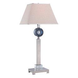 "Quoizel - Quoizel CKOA1737T Odessa 1 Light Table Lamps - Table lamp full size 14""w"