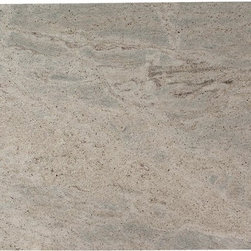 Kashmir White Granite - Kashmir white granite has low variations and primarily feature tones of whites and gray and small flecks of grays and creams. This beautiful granite is available in tiles and slabs and great for both interior and exterior usage including wall cladding.