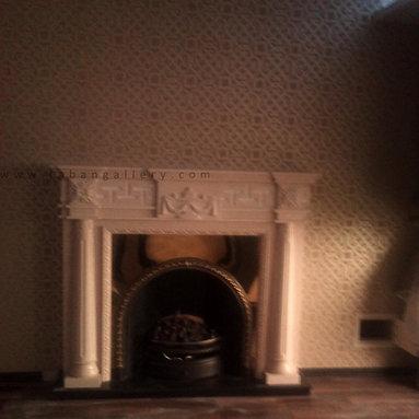 Cast iron Fireplace -