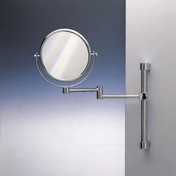 Extending bathroom mirrors find wall mirror and full for Wall mounted extendable mirror bathroom