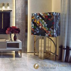 Boca do Lobo Pixel Cabinet Limited Edition - Boca do Lobo Pixel Cabinet Limited Edition