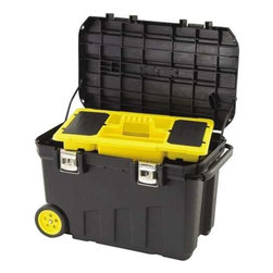STANLEY - Mobile Tool Chest 24 Gallon - Features: