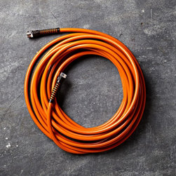 Slim & Light Professional Garden Hose, Orange - I love this modern and bright garden house. My standard green hose is so expected, and I always yearn for something a little more fun. I can't wait to get my hands on this one.