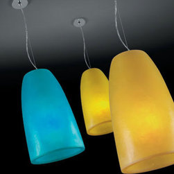 Baccara Pendant Lamp By Modiss Lighting - Baccara by Modiss is a series of two pendant fixtures.