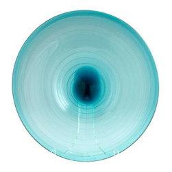 Large Aqua Record Plate - Large Aqua Record Plate