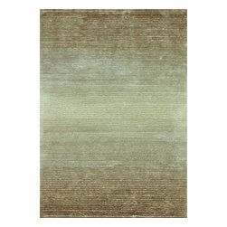 Loloi Rugs - Loloi Rugs Jasper Sand Hand Tufted Shag Rug X-656300AS10-SJHSAJ - Jasper Shag is a contemporary line made in China of 100-percent polyester that is textured with long strands and short cut pile. It features a striking ombre color effect, with gradations of color fading from dark to light. Choose from green glow, mocha, iron, cobalt blue, red, sand and wineberry.