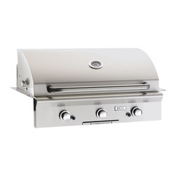 American Outdoor Grill - Built-in LP Grill with 648 sq. in. Cooking Surface - -All heavy duty 304 series stainless steel construction