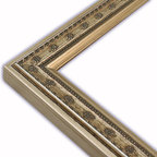 The Frame Guys - Moroccan Champagne Picture Frame-Solid Wood, 8.5x11 - *Moroccan Champagne Picture Frame-Solid Wood, 8.5x11