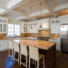 Traditional Kitchen by Perello Building Corporation