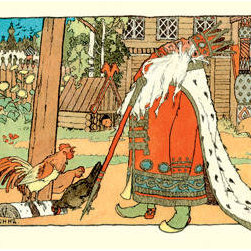 Buyenlarge - The King 28x42 Giclee on Canvas - Series: Bilibin - Russian Tales