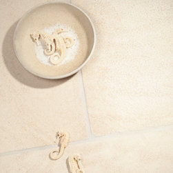 Antiqued Stone - Golden Beach - Various washes give this stone a textured, antiqued look.