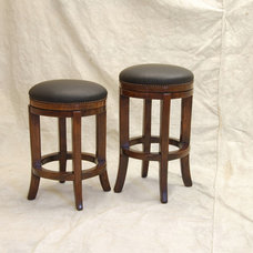 Traditional Bar Stools And Counter Stools by Robert Seliger Custom Fine Furniture