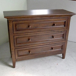 3 Drawer Barn Wood Dresser