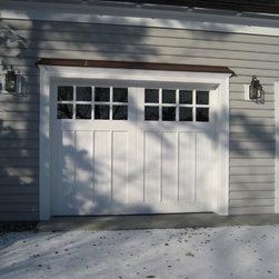 Seapuit Osterville - custom garage doors