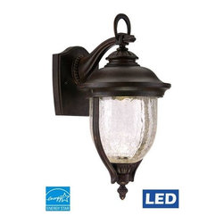 Designers Fountain - Designers Fountain LED22121 Sheffield 1 Light LED Outdoor Wall Sconce with Bulb - Features: