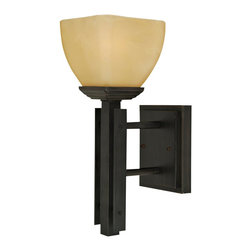 Yosemite Home Decor - Yosemite Home Decor 95591VB Half Dome 1-Light Wall Sconce - Venetian Bronze with - The Half Dome Collection of Sconces, by Yosemite Home Decor, embodies the aesthetic preferences of contemporary artistry with a touch of sophistication. This model's Venetian Bronze Frame with Parchment Frost Glass blends in very well with contemporary cosmopolitan architectural design, while its medium-based, 100-watt incandescent light will provide warm illumination, and a welcoming glow, to your hall and corridor. UL-approved, you can rest assured this model is safe for use in your home. With its one-year warranty, we have this product covered during the first year. Located in Fresno, California, Yosemite Home Decor is a premier leader in Lighting and other unique home products. These are carefully crafted and inspected before leaving our care to ensure that only the best make it to your home. In addition to our two full lines of Lighting we offer a wide variety of other products such as Stone, Copper, Glass and Stainless Steel Sinks, Contemporary and Traditional Artwork, Fireplace Mantles, Range hoods, and Outdoor Living Decor.