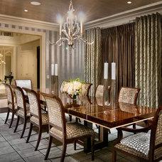 Dining Room by Martin Perri Interiors, Inc.