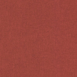 Linen Texture in Red - HB25809 - Collection:Texture Style,
