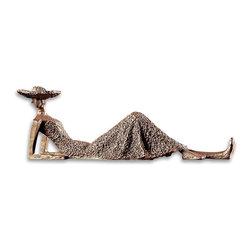 Uttermost - Uttermost Uttermost Sculpture in Heavily Textured Antique Bronze - Shown in picture: Heavily Textured Antique Bronze. Heavily textured antiqued bronze.