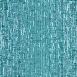 Turquoise Two Toned Cross Stitch Metallic Sheen Upholstery Fabric By The Yard - This multipurpose fabric is great for residential upholstery, bedding and drapery. This material is woven for enhanced elegance. The sheen of this material varies depending on the light for a unique appearance.