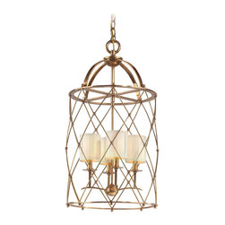 Corbett Lighting - Corbett Lighting 13-44 Argyle 4lt Foyer Chandelier - Corbett Lighting 13-44 Argyle 4lt Foyer Chandelier