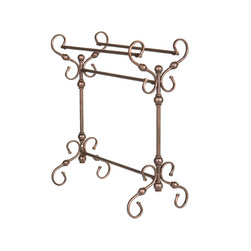 Holly & Martin - Carlisle Blanket Rack - Exquisite antique styling wrapped in a burnished bronze finish creates this gorgeous blanket rack. Perfect anywhere from living room to bedroom, the function of such a wonderful piece is a welcome addition to any room.