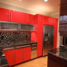 Contemporary Kitchen by Urbane Design I Reviving Interior Spaces