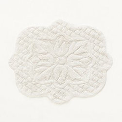 "Anthropologie - Amarga Bathmat - CottonMachine washSmall: 33.5""L, 43""WLarge: 27""L, 55""WImported"