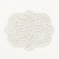"Anthropologie - Amarga Bathmat - CottonMachine washSmall: 33.5""L, 43""WLarge: 27""L, 55""WImported"