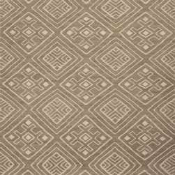 Jaipur - Jaipur Batik Miao 5' x 8' Metal Gray, Floral White Rug - This Machine Made area rug would make a great addition to any room in the house. The plush feel and durability of this area rug will make it a must for your home.