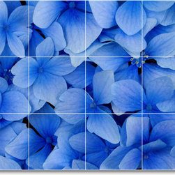 Picture-Tiles, LLC - Flower Photo Kitchen Tile Mural F091 - * MURAL SIZE: 18x24 inch tile mural using (12) 6x6 ceramic tiles-satin finish.