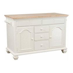 Broyhill Furniture - Kitchen Island - 4024-505 - Hampton Collection