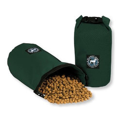 Travel Feed Bag - Sometimes pet owners need to travel with their furry pals, and lugging around a torn bag of Iams they bought in bulk at Costco can be a total drag. These travel pouches keep pet food fresh, contained, and compact.