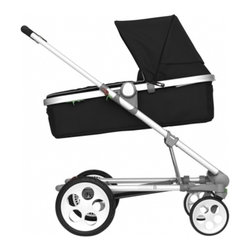 Seed - Seed Pli MG Stroller & Pram by Knud Holscher, Black - Seed Pli Mg is a pram and stroller in one – in contemporary design by renown Danish architect Knud Holscher. The Seed Pli Mg can, with a few steps, be changed from a pram to a stroller and back so easily. Seed Pli Mg meets your needs to have all-in-one in the period when the child needs both - a pram and a stroller. It also folds flat to fit into small storage spaces.