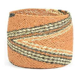 Go Home Ltd - Go Home Ltd Comanche Decorative Basket X-75071 - Pack of 2.