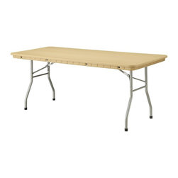 PRE Sales - 6 Foot Banquet Table - Weather resistant and maintenance free. 0.75 in. lip for skirting. SGS tested and approved. Lightweight - easy to grip and carry. Auto-locking steel wishbone legs and steel frame. Easy set up and take down. Stain-resistant surfaces won crack or splinter. Heat and water resistant. Legs 15 in. from ends on 6 & 8 foot tables for dining comfort. 5 year limited warranty. 72 in. L x 30 in. W x 30 in. H (44 lbs)Our Rhino tables are built with high-density polyethylene resin, and steel legs and frame. These are HEAVY-DUTY, plastic tables (not Lite Duty, like common blow mold tables). Rhinos have been tested by SGS Labs, and rated at 2400 lbs. capacity (unlike blow mold tables, rated at only 400 lbs.). Weather resistant and low maintenance, Rhinos never need sanding or refinishing. Rounded corners help to avoid damage. This lightweight table is easy to set up and take down. Gravity locking, wishbone legs are standard, and the tops have a ¾ inch edge to allow for skirting. Standard table height is 30 (dining height), except for the childrens table. Table width is 30, except for the 60 Round.