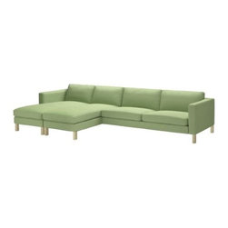Tord Björklund - KARLSTAD 2 chaise lounges + sofa - 2 chaise lounges + sofa, Korndal green