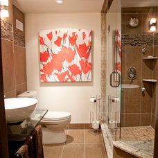 Traditional Bathroom by micheal lambie interiors