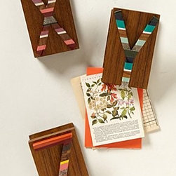 Anthropologie - Candied Letter Desk Clip - *Available in letters A-Z