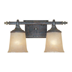 "Designers Fountain - Designers Fountain 97302 Two Light Down Lighting 17.5"" Wide Bathroom Fixture fro - Features:"