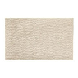 Stark(TM) Concepts Custom Diamond Sisal Rug, Natural, 12 x 6' - Stark Concepts has made a name for itself by crafting custom-designed rugs and carpets in America for more than 60 years. Our custom rug is created with durable, natural fibers that make it ideal for busy rooms. Neutral hues and a simple, tailored design give this floor decor versatile style. Woven of pure sisal. Durable fiber is ideal for high-traffic areas. Lapped corners. Backed with latex. Use with our Rug Pad (sold separately). Made of imported materials. Cut and sewn in America. Catalog / Internet Only.